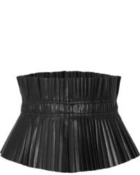Cinturón de cuero negro de Isabel Marant