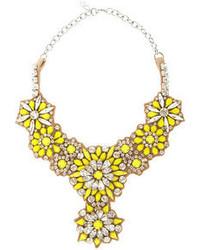 Collar amarillo de Valentino
