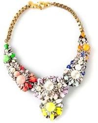 Collar con print de flores en multicolor de Shourouk