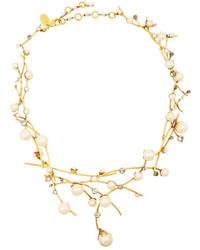 Collar de perlas blanco de Erickson Beamon