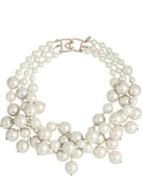 Collar de Perlas Blanco de Kenneth Jay Lane