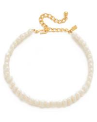 Collar de perlas en beige de Kenneth Jay Lane
