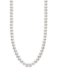 Collar de perlas gris de Kimura Pearls