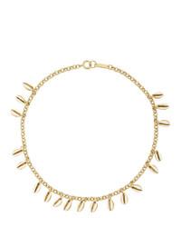Collar dorado de Isabel Marant