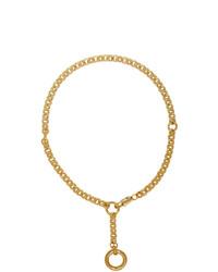 Collar dorado de Laura Lombardi