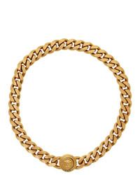 Collar dorado de Versace