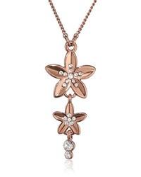 Collar Marrón de Pilgrim Jewelry