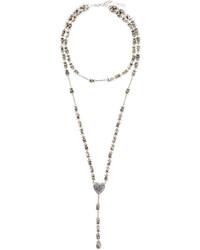 Collar plateado de Givenchy