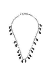 Collar plateado de Isabel Marant