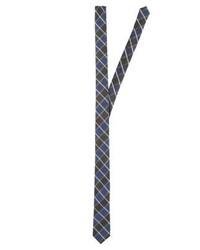 Corbata a Cuadros Azul de s.Oliver BLACK LABEL