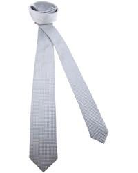 Corbata a cuadros gris de Dolce & Gabbana