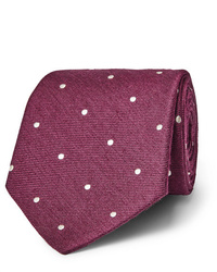 Corbata a lunares burdeos de Paul Smith