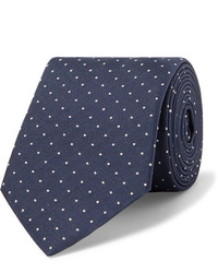 Corbata a lunares en azul marino y blanco de Paul Smith