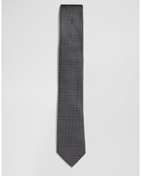 Corbata a lunares en negro y blanco de French Connection