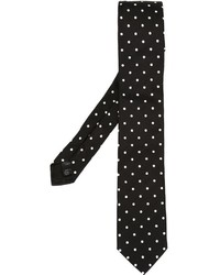 Corbata a Lunares Negra de Dolce & Gabbana