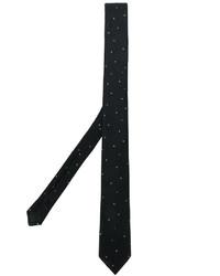 Corbata a lunares negra de Saint Laurent