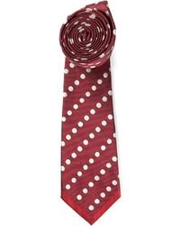Corbata a lunares roja de Valentino