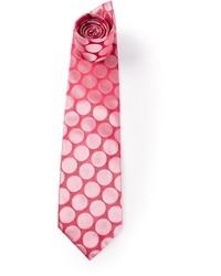 Corbata a lunares rosada de Gianfranco Ferre
