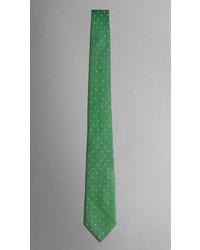 Corbata a Lunares Verde de Burberry