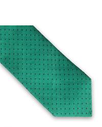 Corbata a Lunares Verde de Thomas Pink