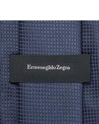 Corbata azul marino de Ermenegildo Zegna