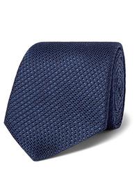 Corbata azul marino de Canali