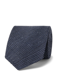 Corbata azul marino de Drake's