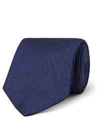 Corbata Azul Marino de Turnbull & Asser