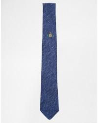 Corbata azul de Vivienne Westwood