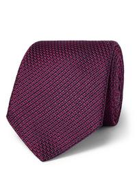 Corbata burdeos de Canali