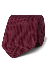 Corbata burdeos de Drakes