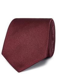 Corbata burdeos de Giorgio Armani