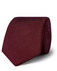 Corbata burdeos de Hugo Boss