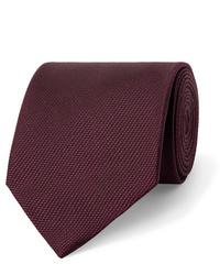 Corbata burdeos de Tom Ford