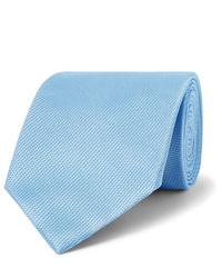 Corbata celeste de Tom Ford