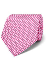 Corbata con print de flores rosa de Emma Willis