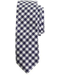 Corbata de cuadro vichy