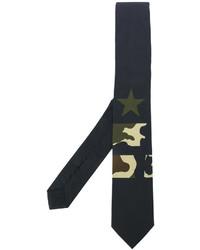 Corbata de estrellas negra de Givenchy