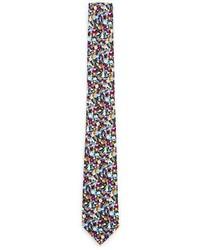 Corbata de Flores Multicolor