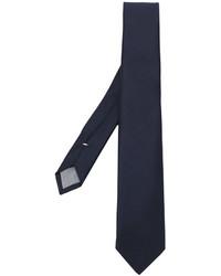 Corbata de lana azul marino de Eleventy