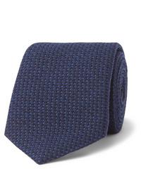 Corbata de lana azul marino de Richard James