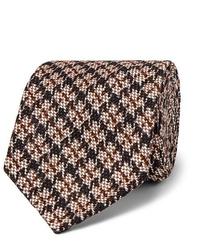 Corbata de lana en beige de Rubinacci