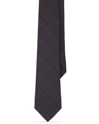 Corbata de Lana Gris Oscuro