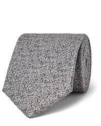 Corbata de lana gris de Charvet