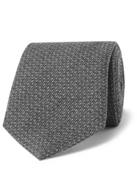 Corbata de lana gris de Richard James