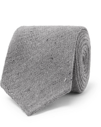 Corbata de lana gris de Thom Sweeney