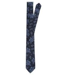 Corbata de Paisley Azul Marino de Tiger of Sweden