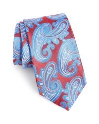 Corbata de paisley en multicolor