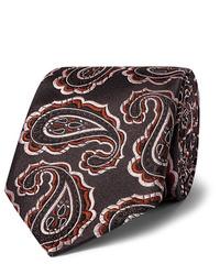 Corbata de paisley negra de Kingsman