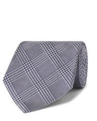 Corbata de pata de gallo azul marino de Tom Ford